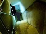 ילדה בחדר מדרגות. צילום: אוליבר פיטוסי/פלאש90