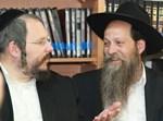 אורי הולצמן עם מאיר רובינשטיין