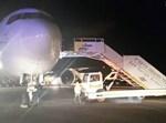 """המטוס לאחר הנחיתה. צילום: רש""""ת"""