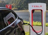 מכונית חשמלית של טסלה