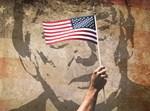 טראמפ דגל ארצות הברית