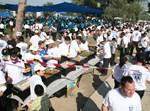 המתנדבים בפארק (צילום: דוברות 'איחוד הצלה')