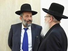 יעקב ליצמן בשיחה עם אריה דרעי