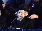 """הגראי""""ל אמש בנאומו בעצרת. צילום:  שוקי לרר"""