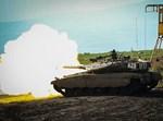 טנק ישראלי בפעולה. אילוסטרציה