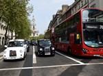 רכבים בלונדון. צילום: גילי יערי - פלאש 90