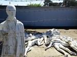 הדמייה של מחנות המוות בשואה