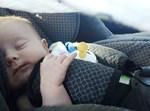 תינוק, אוטו, כיסא רכב