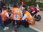 מתנדבי איחוד הצלה מטפלים בפצוע. אילוסטרציה