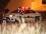 ניידת משטרה בחסימת כביש