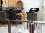 """מקומותיהם של אדמו""""רי סערט ויז'ניץ בביהמ""""ד בחיפה (באדיבות המצלם)"""