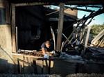 בית משפחת דאוובשה לאחר השריפה