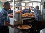 דוכן מזון במזרח ירושלים