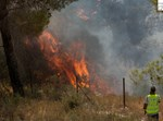 שריפה. צילום: כבאות והצלה ירושלים