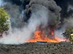 שריפה בעוטף עזה מטרור האש