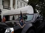 רכב השרד של טראמפ, הידוע בכינויו 'החיה'