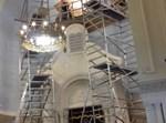 השיפוצים בבית הכנסת בבורסה בבלגיה