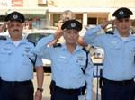 """מפכ""""ל המשטרה אלשיך, מפקד מחוז ת""""א דוד ביתן ומפקד מרחב דן מומי בוריה"""