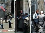 """שוטר ימ""""ר גיל זקן תוקף את יצחק דוידוביץ"""