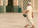 מוסלמי במסגד, אילוסטרציה