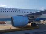 המטוס שנפגע בכיס האוויר