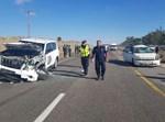 תאונת דרכים חזיתית בגולן