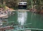 סכר דגניה מאתר הטבילה ירדנית - נהר הירדן