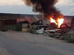 התלקחות השריפה כתוצאה מנפילה במועצה אזורית אשכול