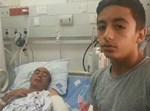 בנו של הפצוע מספר