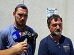 משפחת לוברסקי מחוץ משפט המחבל שרצח את בנם