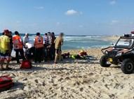החייאה בחוף המצודה באשדוד