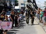 הפגנה פלסטינית בשכם. צילום: עבד רחים חטיב, פלאש90