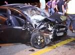 רכב לאחר תאונת דרכים