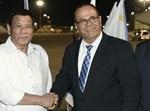 נשיא הפיליפינים רודריגו דוטרטה בישראל