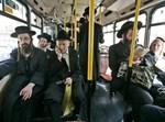 חרדים באוטובוס | אילוסטרציה