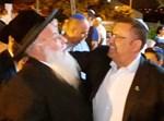 משה ליאון עם הרב בניהו שמואלי