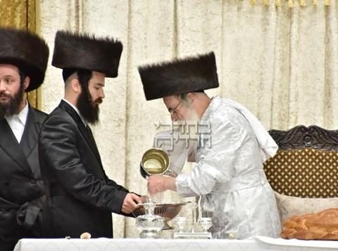 ראש השנה בחצר חסידות ויז'ניץ
