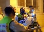 הוצאת גופת התינוק באסון השריפה בביתר