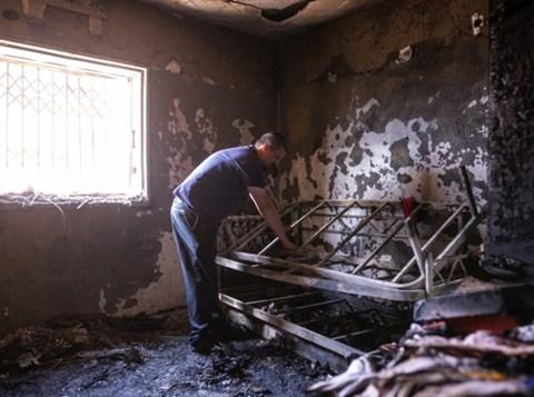 אסון השריפה בביתר: זה מה שנשאר