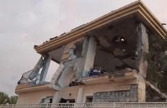הבית שנפגע מרקטת הגראד