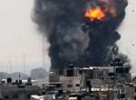 הפצצות בעזה