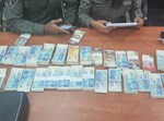 כספים שאותרו על ידי השוטרים