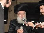 הרב לייב מינצברג - מנהיג קהילת המתמידים