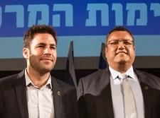 משה ליאון לצד עופר ברקוביץ