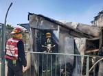 שריפה על גג בניין במאה שערים