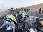 תאונה קטלנית בכביש 90 סמוך לים המלח