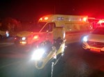 תאונת פגע וברח בצומת סביון