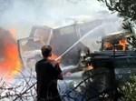 רכב עולה באש בקיבוץ עלומים, מבלון תבערה