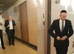 אטיאס, מקלב ואמסלם מגיעים לפגישה על חוק הגיוס