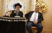 """משה ליאון עם הגר""""ד יוסף"""